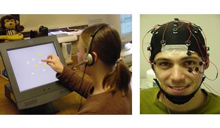 Computer tasks                                        EEG Testing