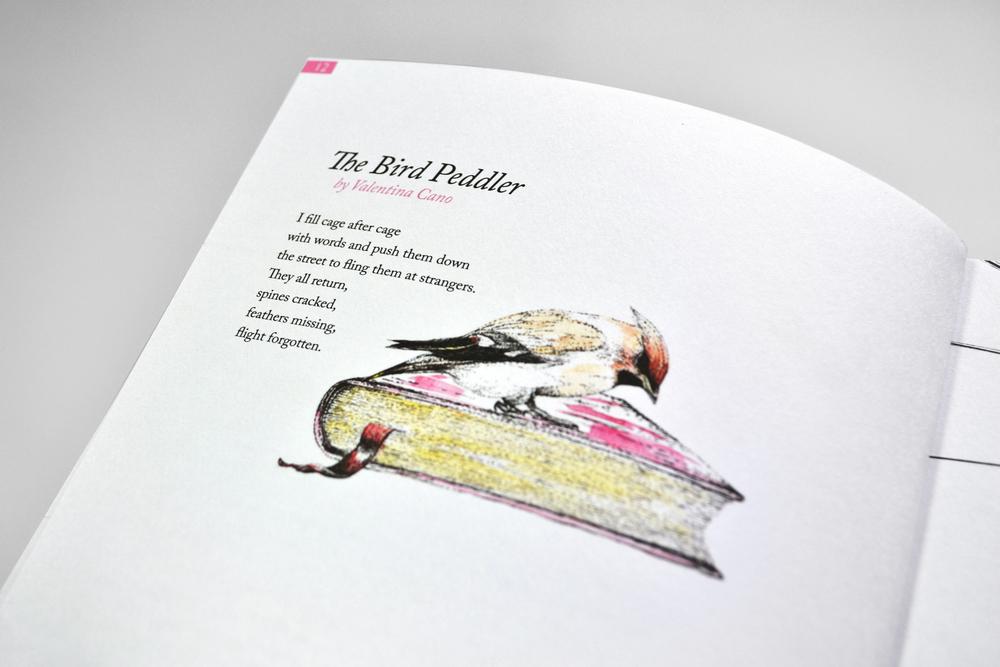 Artwork by Ella Johnston in Issue 2