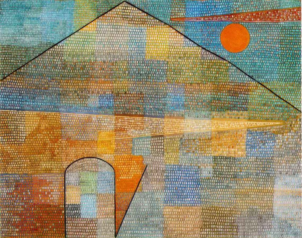 Paul Klee, Ad Parnassum  (1932).
