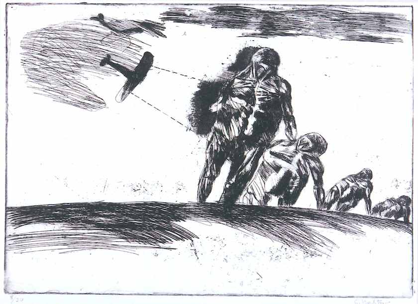 Gerhard Nordström, The Attack  (1965).