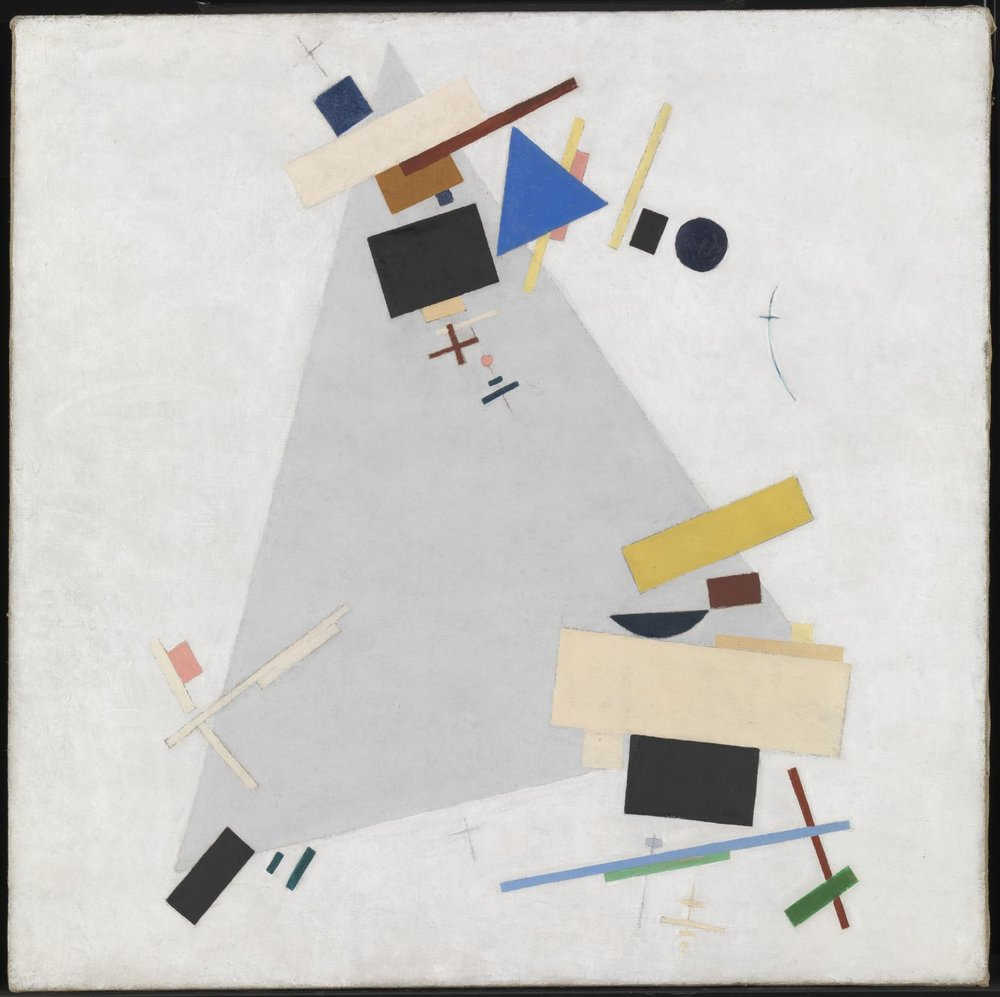 Kasimir Malevich,  Dynamic Suprematism  (1915 or 1916).