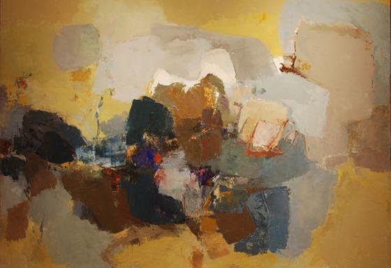 Yolanda Mohalyi, Pintura No 4 (1963).