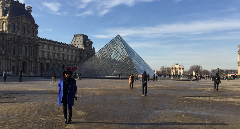 December 2014: I used my flight benefits to go to Paris, France Photo by Corey Price