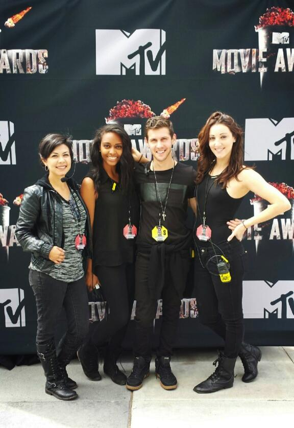 This was the 2nd MTV Movie Awards I worked on in 2014