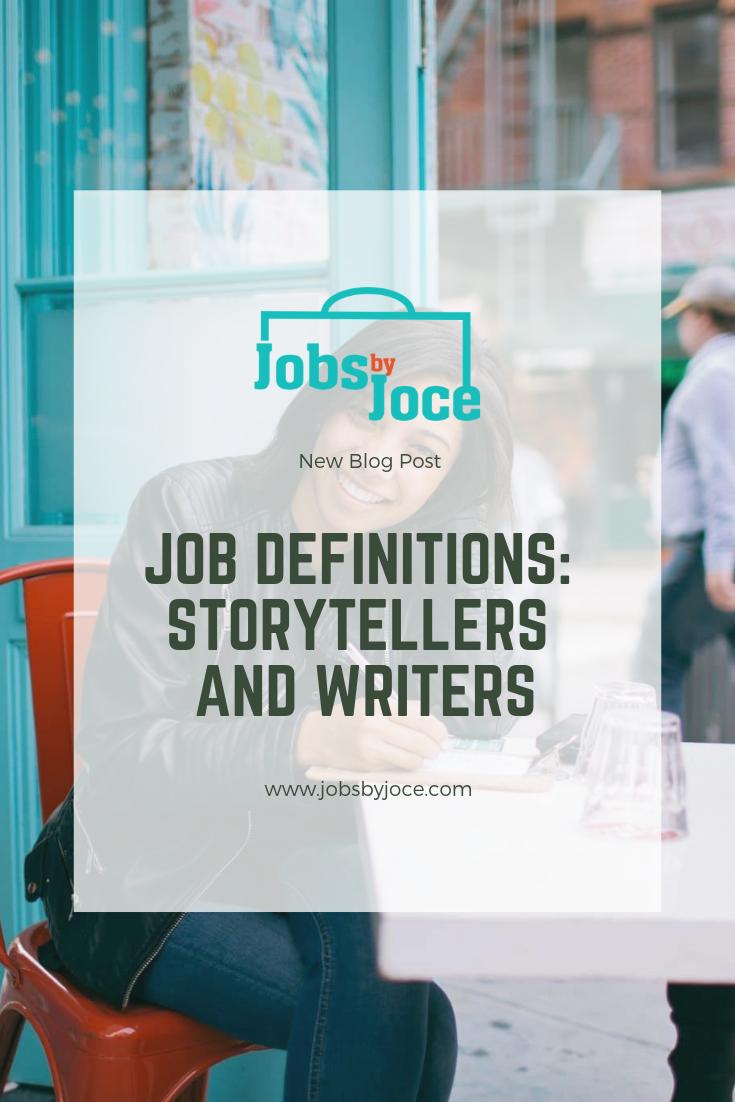 Jobs by Joce Storytelling