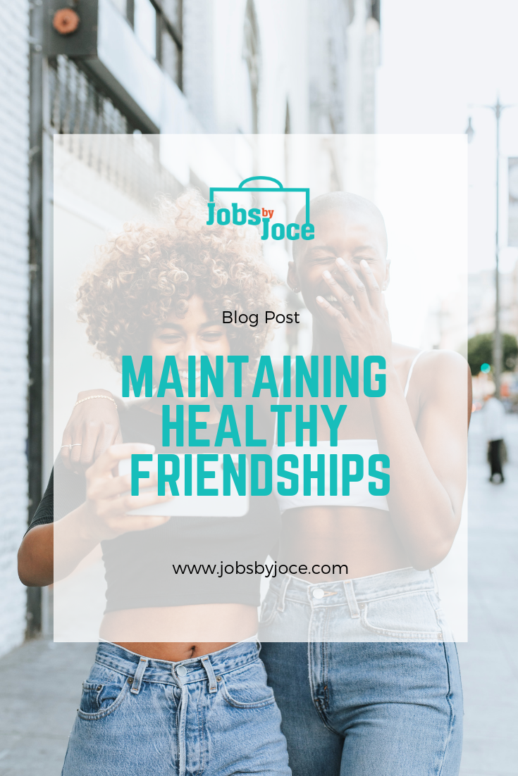Jobs by Joce Friendships