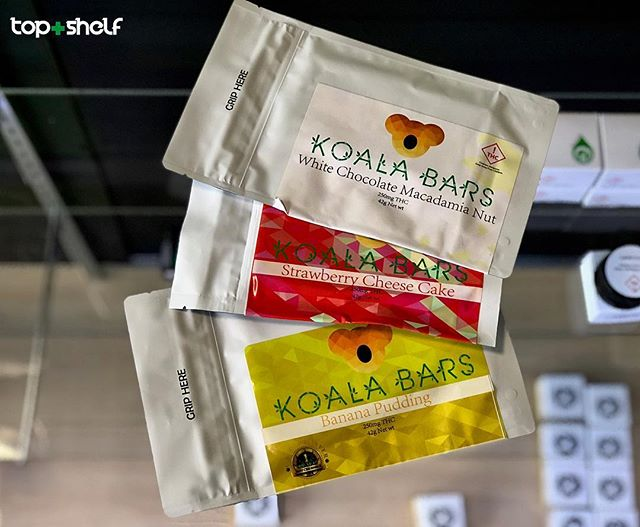 The hype is real with these @koala_bars  be sure to check swing by and check out their wonderful chocolates 250 mg for these bad boys more to come !