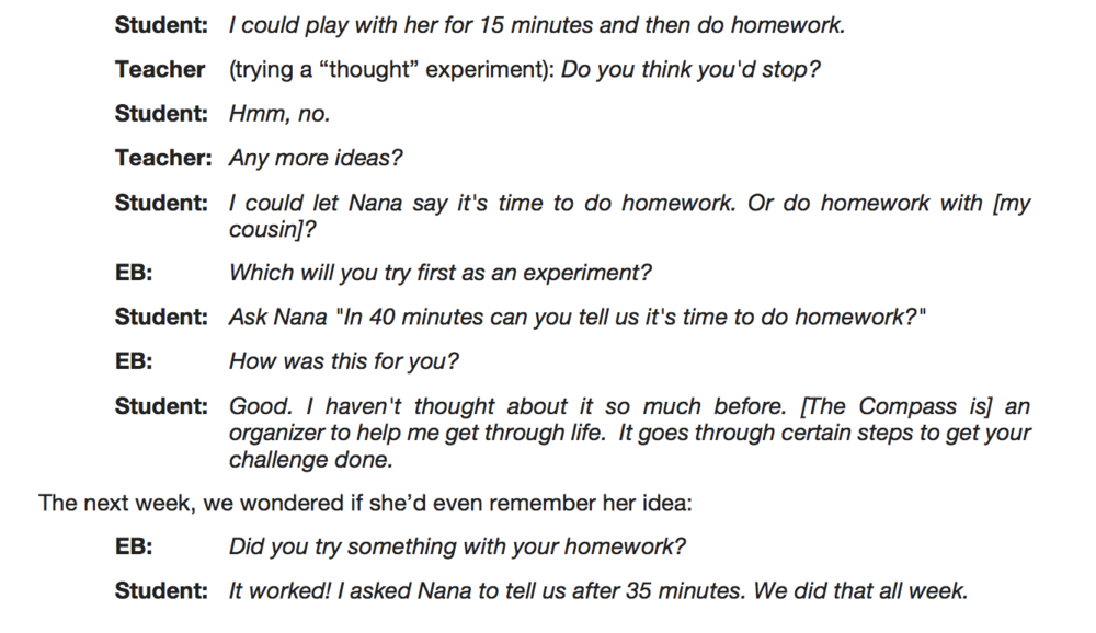 Problem-solving conversations