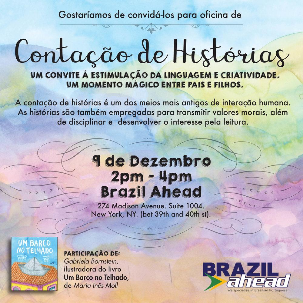 contação de Histórias Brazil Ahead