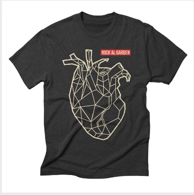 Men's triblend fitted heart logo t-shirt $24  BUY