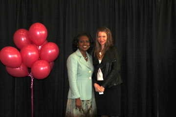 Anita Hill and Alicia in 2011