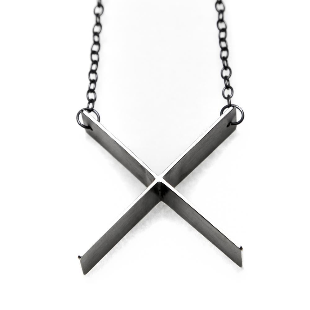 Big X Necklace