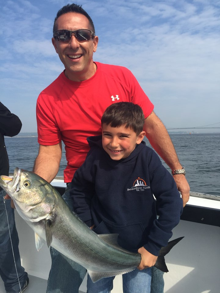 Peter and Son Bluefish.jpeg