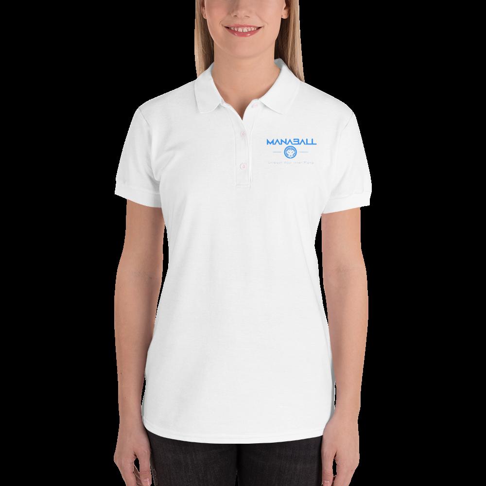 Gildan 82800L Embroidered Women s Polo Shirt — Your TRUE Northern  California Bubble Ball Experience 1adbbb542