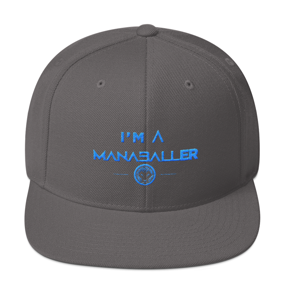 I m A ManaBaller Yupoong 6089M Wool Blend Snapback — Your TRUE Northern  California Bubble Ball Experience 3fbf6dc28fd