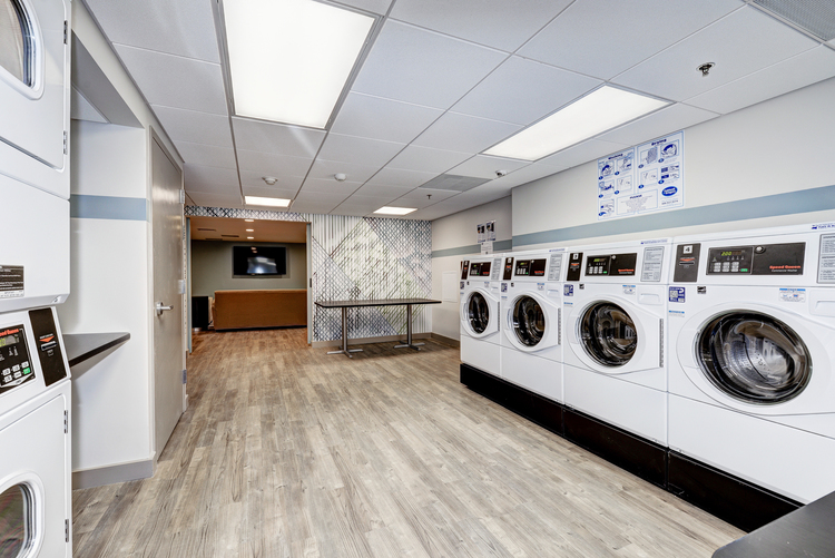 Laundry Room — The Mark Apartments | Alexandria, Virginia