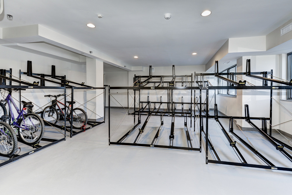 Bike Storage & Repair Room