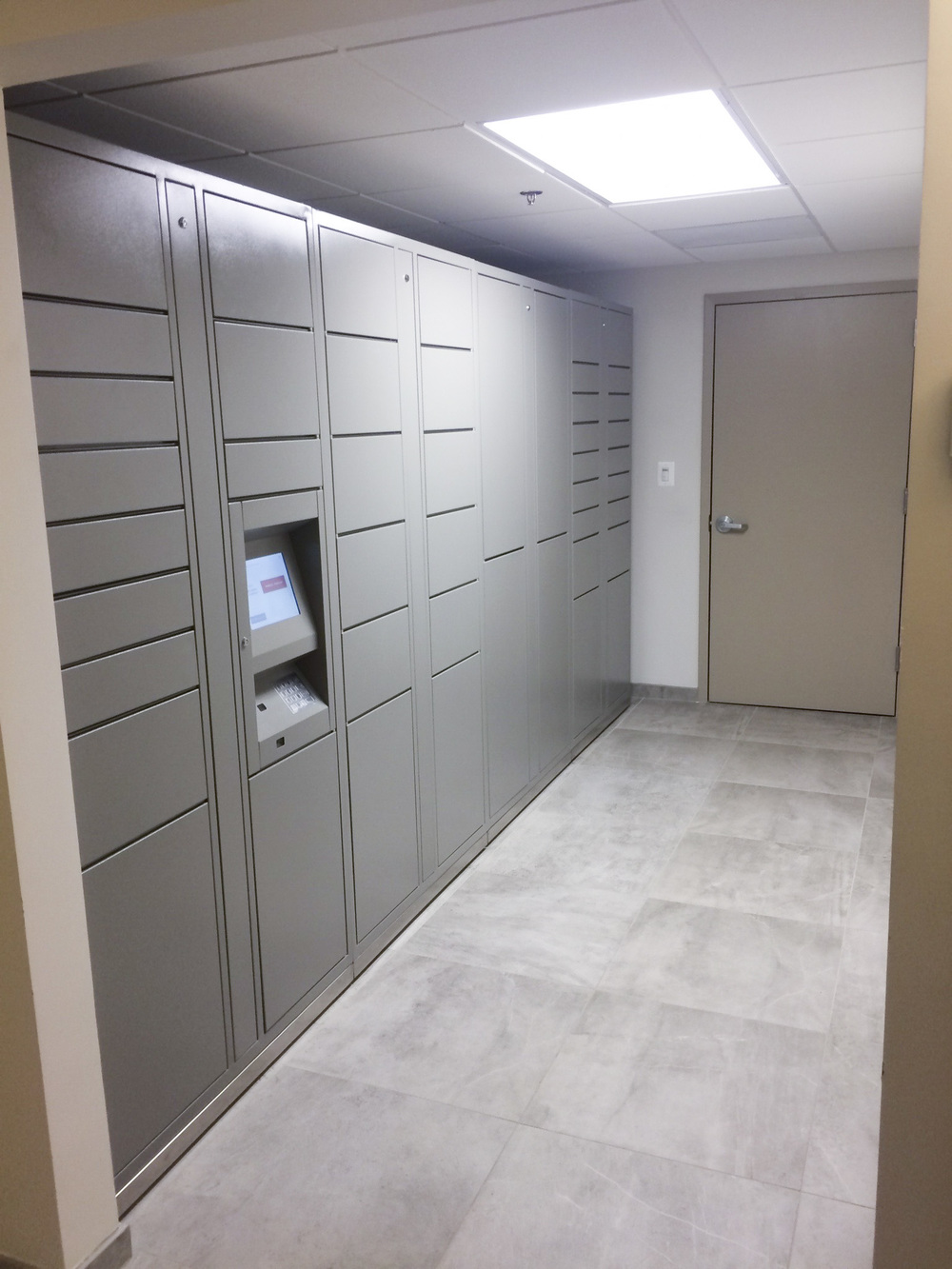 Mail Room and Package Concierge