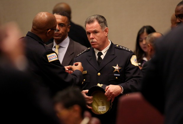 Former Chicago Police Superintendent Garry McCarthy. (Nancy Stone/Chicago Tribune)