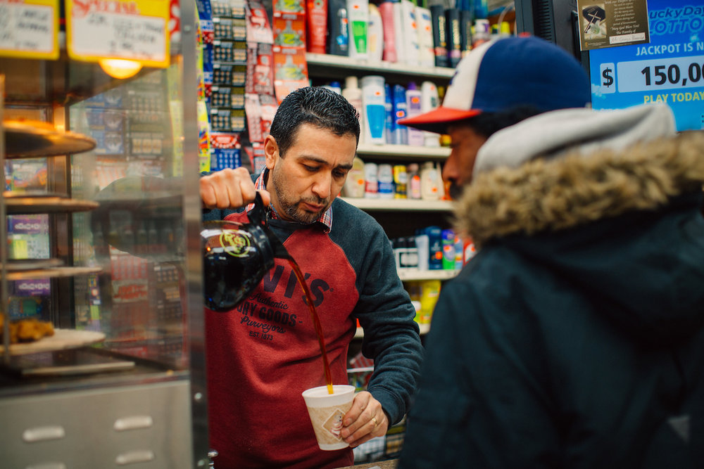 Customers say Deffala, who hosts a summer block party for his neighbors each year, is Englewood's corner store king.