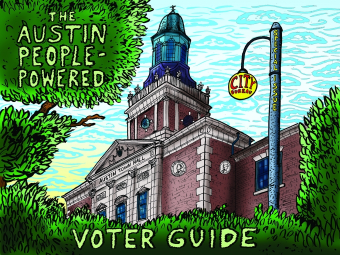 Public Newsroom - What issues matter the most to Austin residents, and where do local candidates stand on them? City Bureau reporters Aaron Allen, Annie Nguyen, and Michael Romain talk about their findings at our February 7th Public Newsroom.
