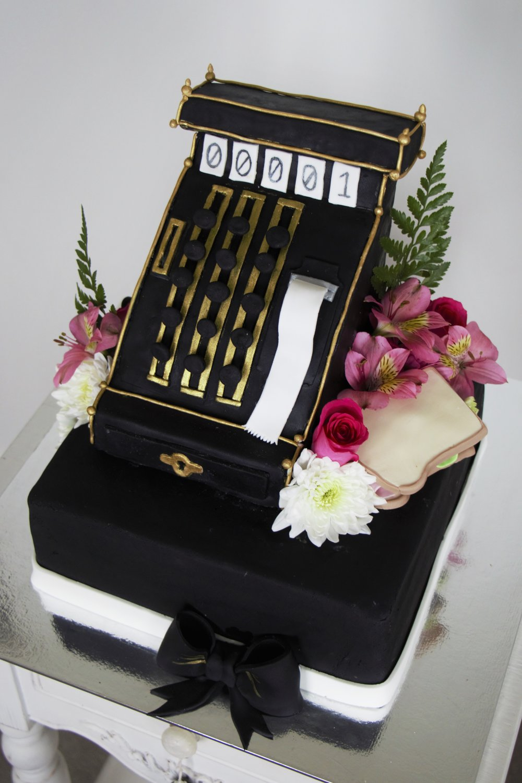 Cash Register Cake
