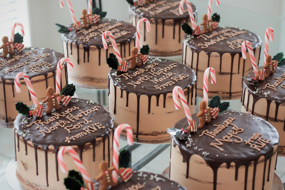 Christmas cakes!!