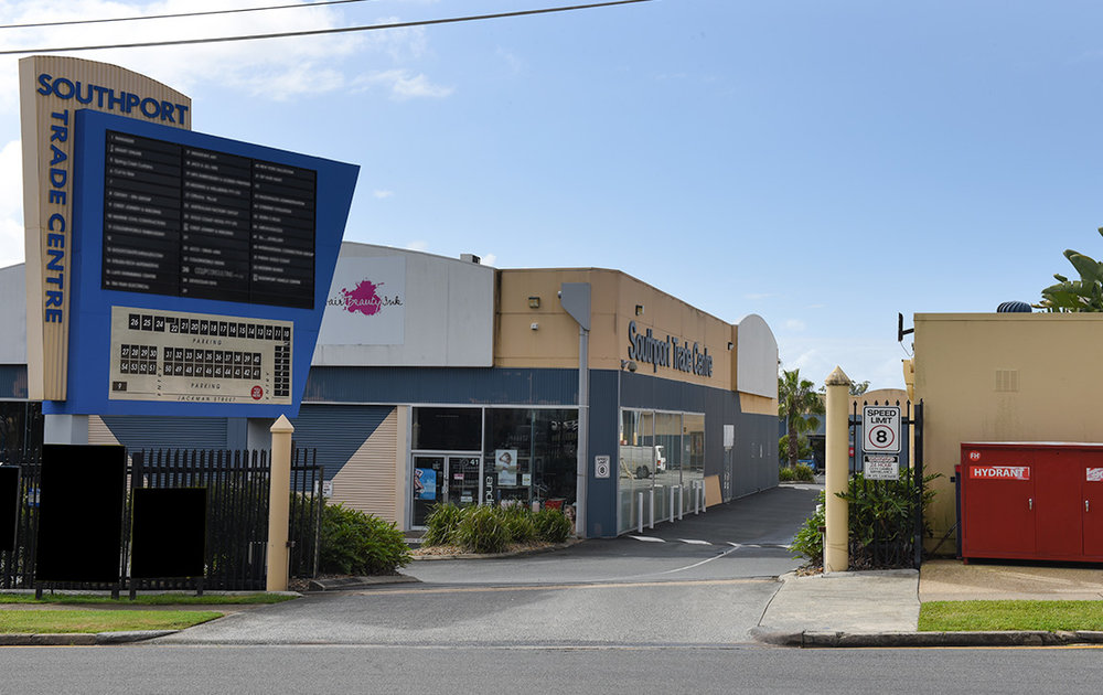 Southport Trade Centre Entrance