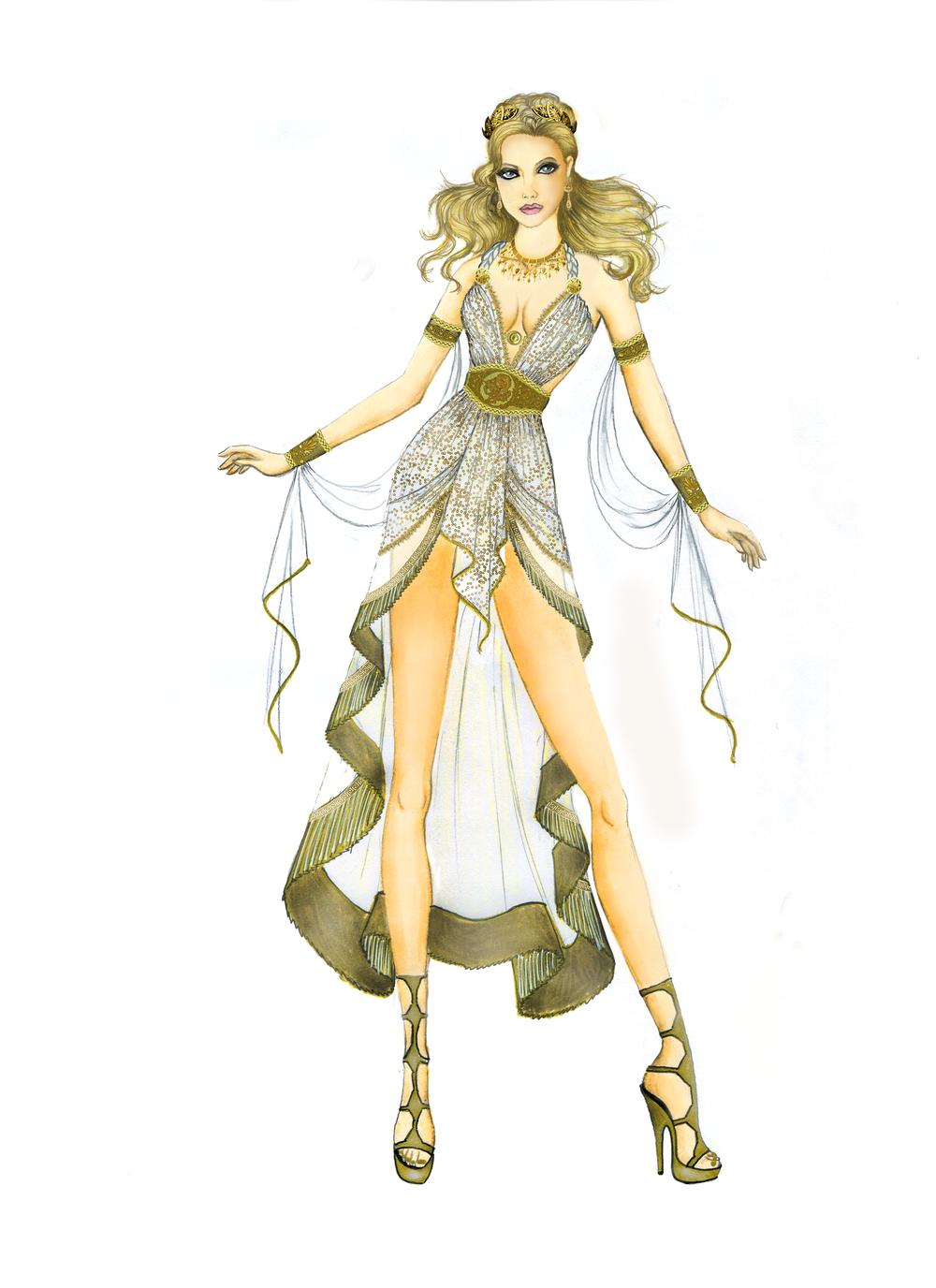 8031 Glamorous Goddess