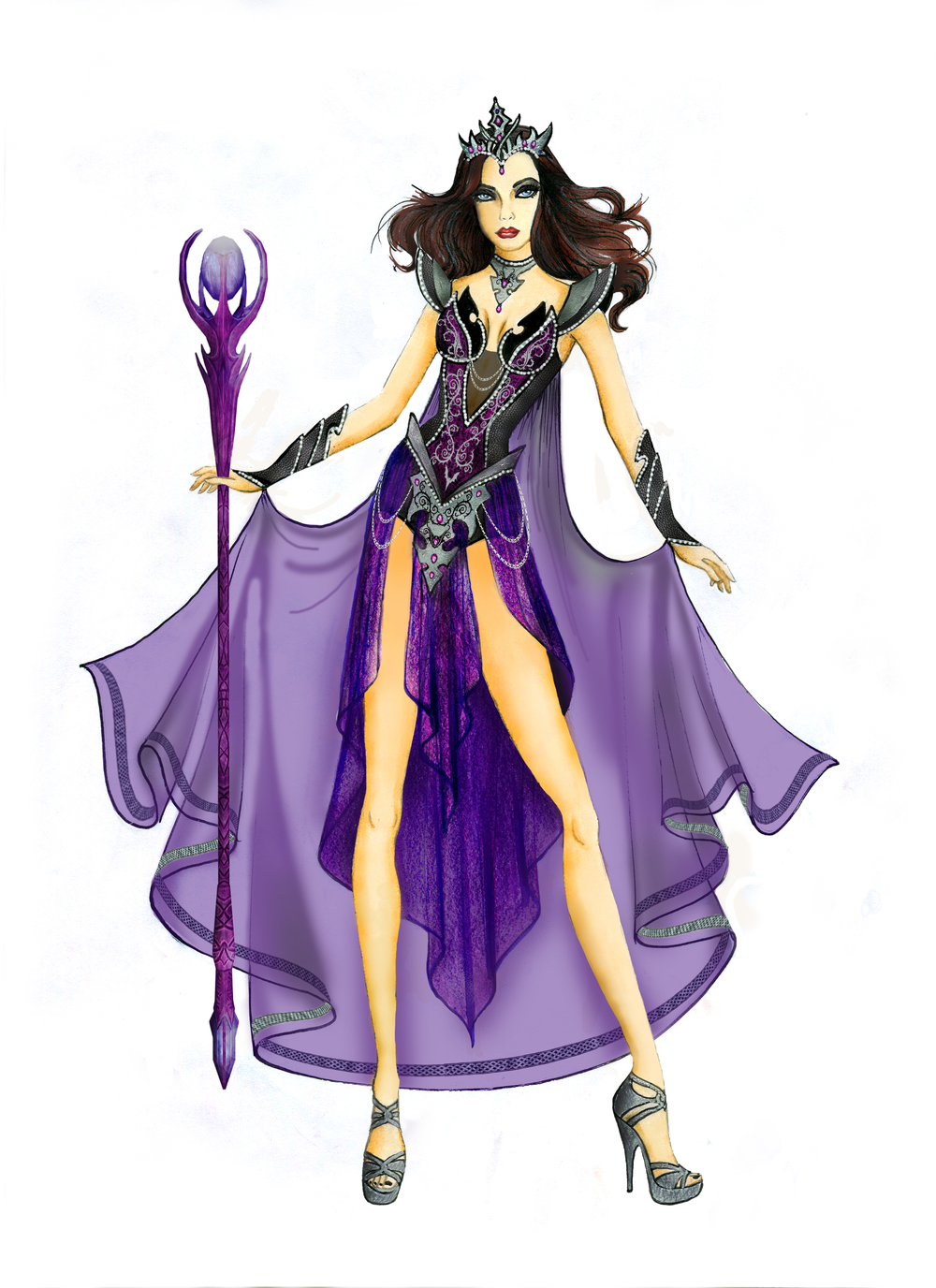 8033 Seductive Sorceress