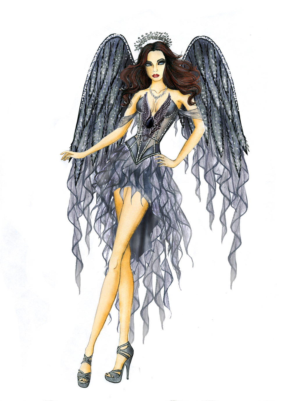 8035 Dark Angel's Desire