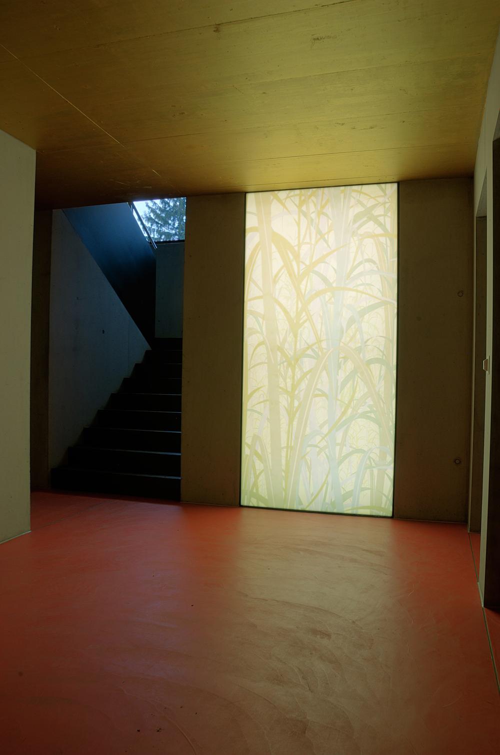 Kunstvolles Treppenhaus