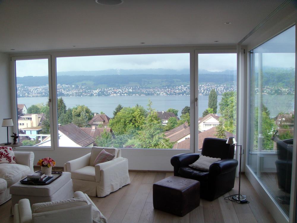 Aussicht vom Wohnzimmer