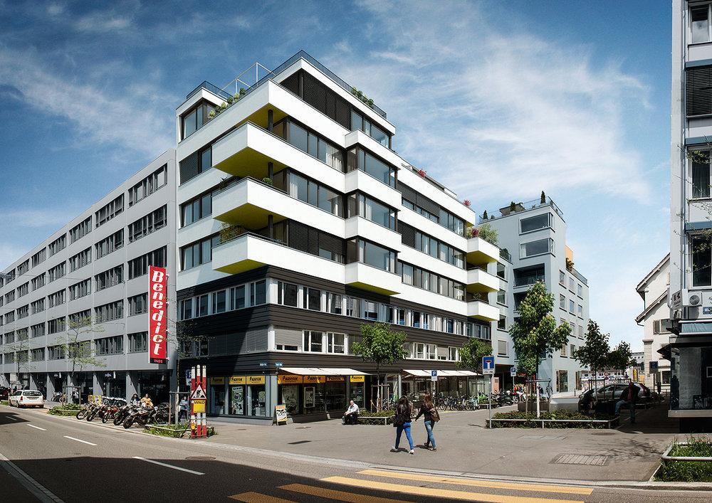 Tellstrasse,Zürich Kreis 4