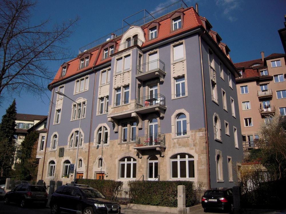 Scheuchzerstrasse, Zürich Kreis 6