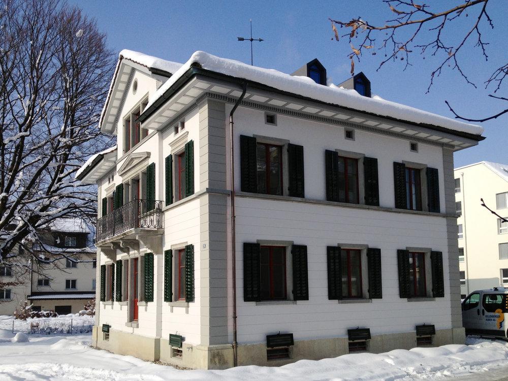 Villa Wetzikon,Umbau Fabrikantenvilla
