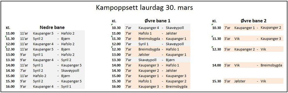 Kampoppsett Gutefotballens helg laurdag 30. mars.JPG