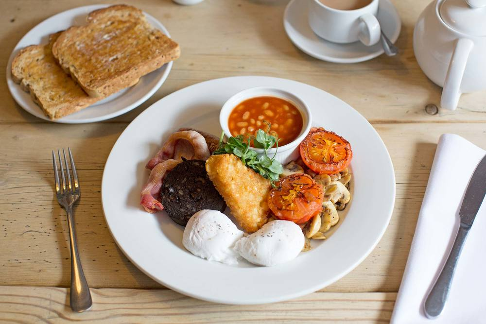 Enjoy the best breakfast in  Suffolk