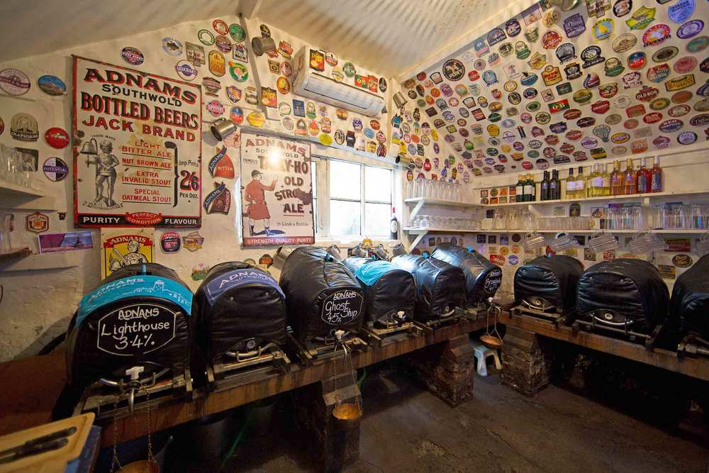 Enjoy real ale in our  Tap room   View our gallery