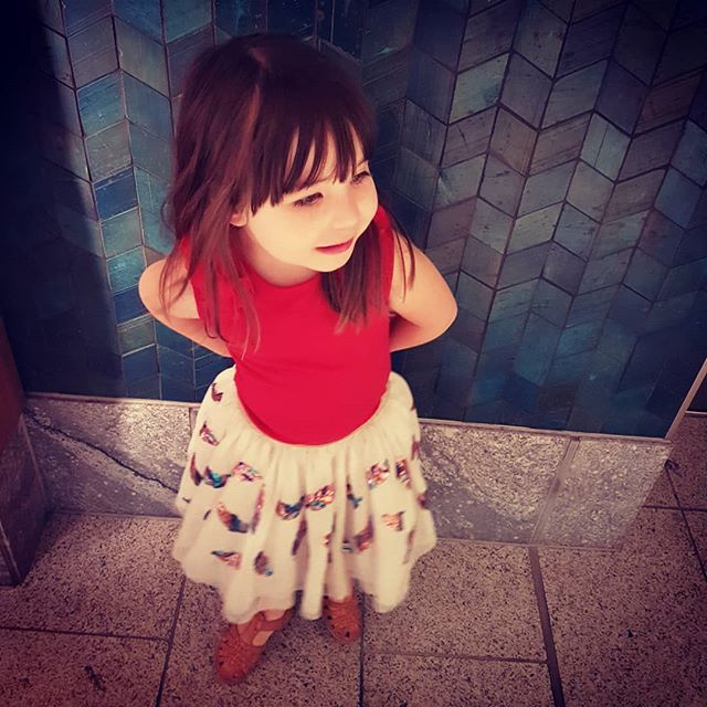 // my lil soul spark // nearly 5yo and she's asking the big questions now .. ! . how was the world made amd who made it? . what is air made of? . how do you make a baby? . (and my personal fave) what makes your soul be alive? SKJ xx