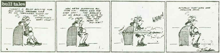 G.B. Trudeau   comic strip featuring   John Cole.