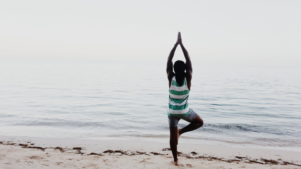 Marcilla Beach Tree Pose