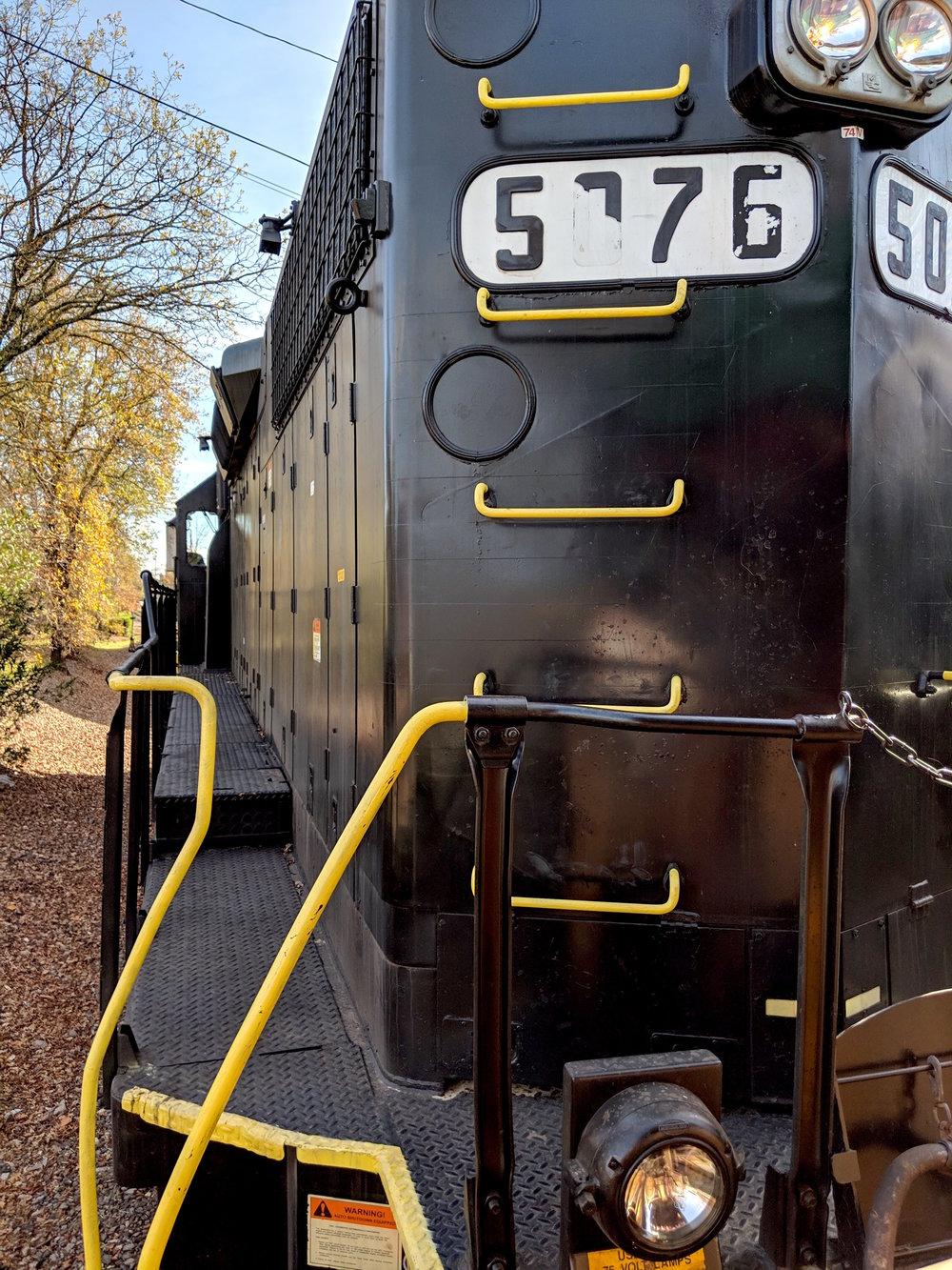 Wine Train Engine