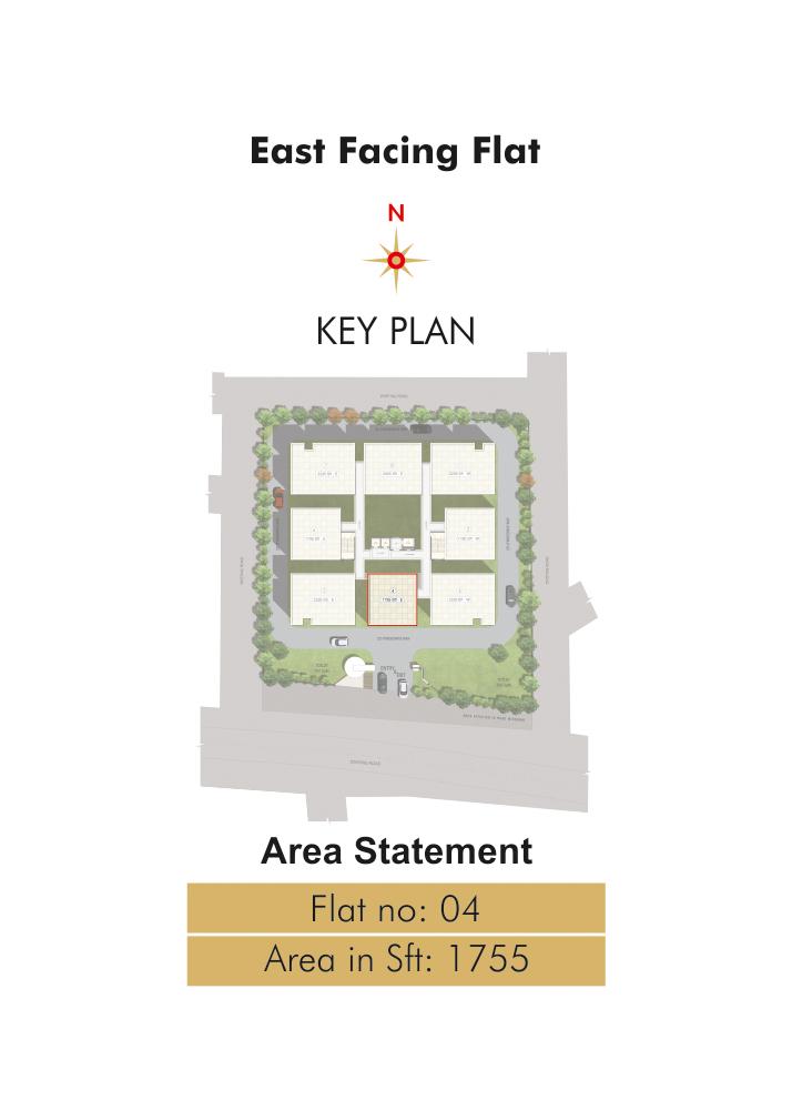 east key plan