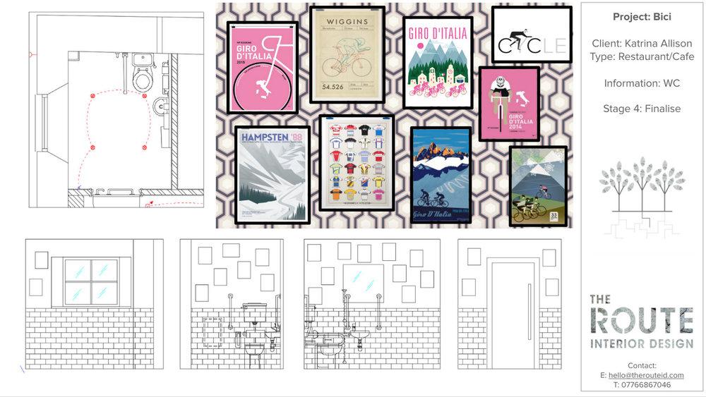 WC Interior Design Scheme