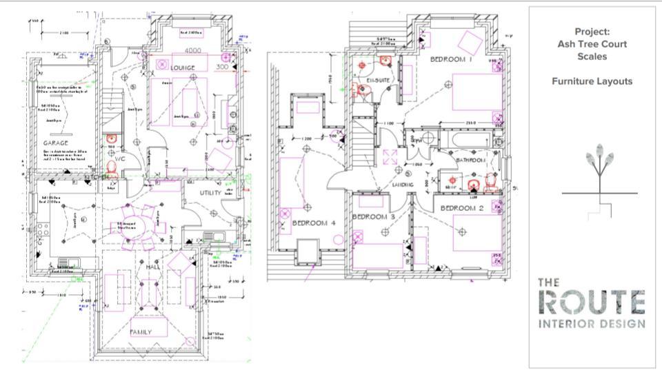 Ash Tree Court - Showhome Interior Design