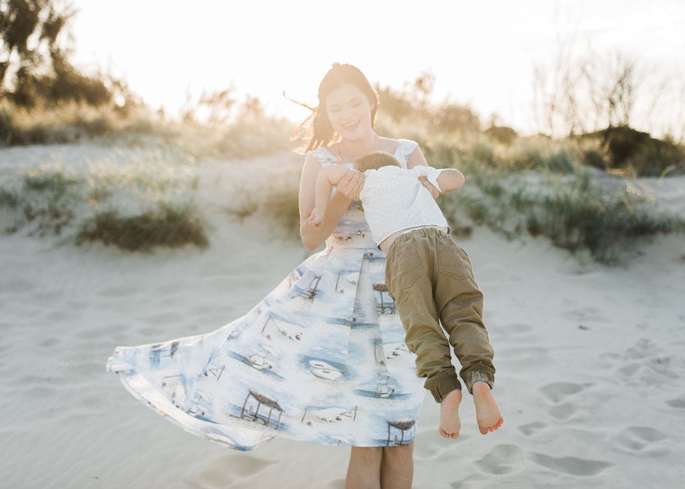 My name is Ashlee, and I love the adventure that is motherhood - Special thank you to Steve Doyle Photography for capturing our family is so beautifully in the Gold Coast!