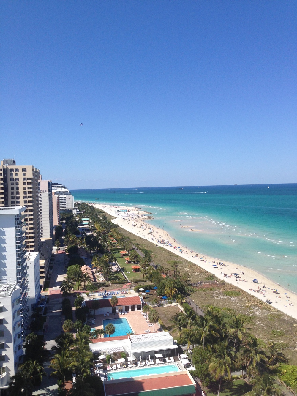 View from 1 Hotel South Beach