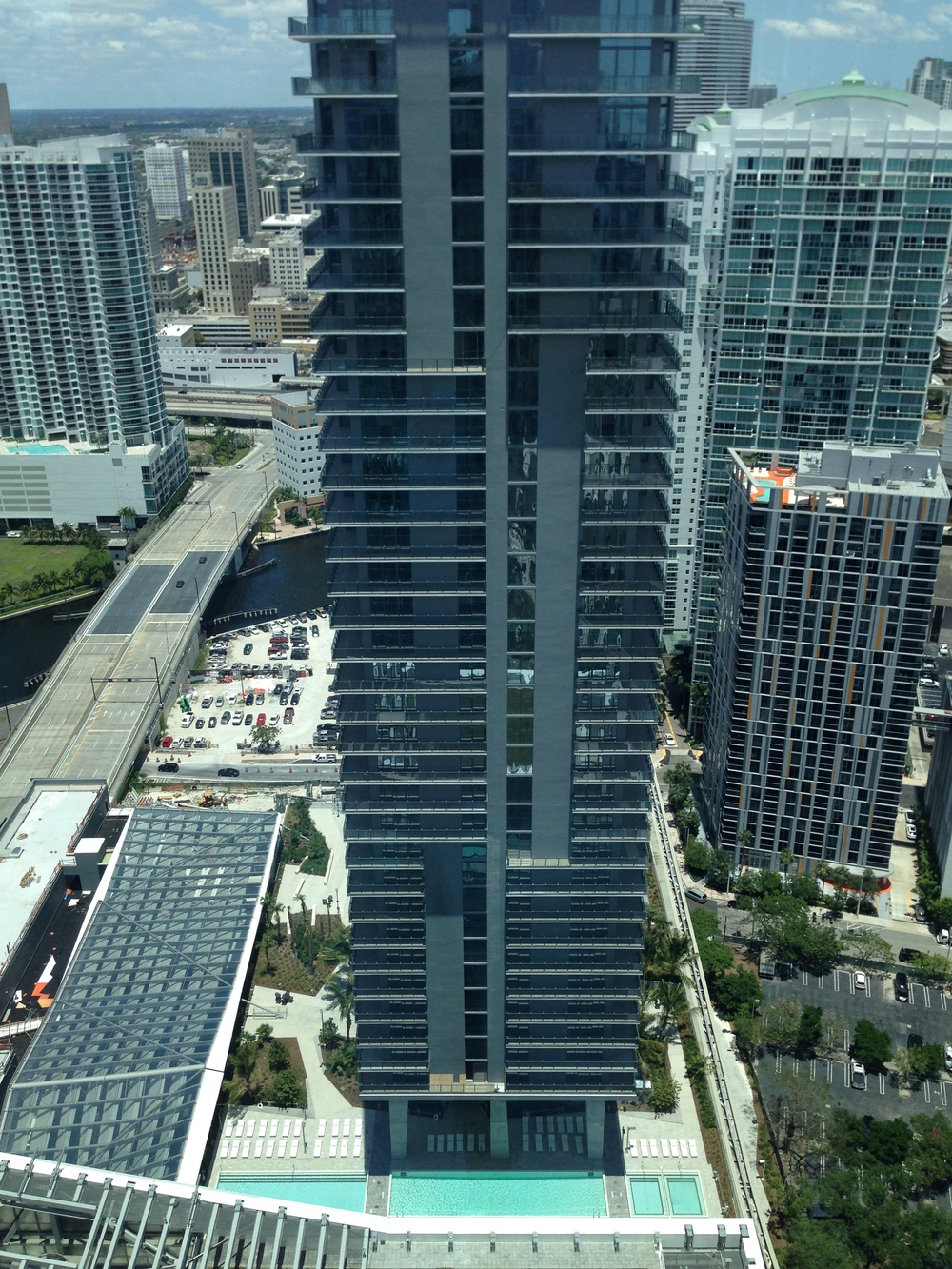 View from The East Hotel Miami