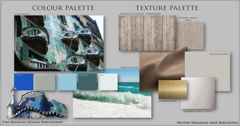 FINISHES PALETTE